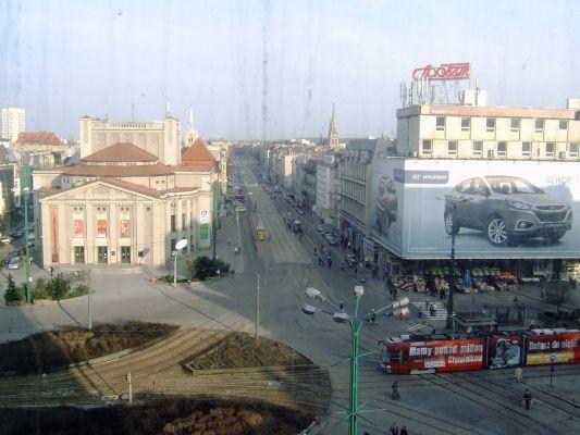 Warszawska Street in Katowice