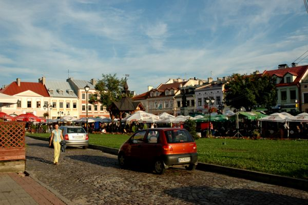 Rynek glowny w Rzeszowie