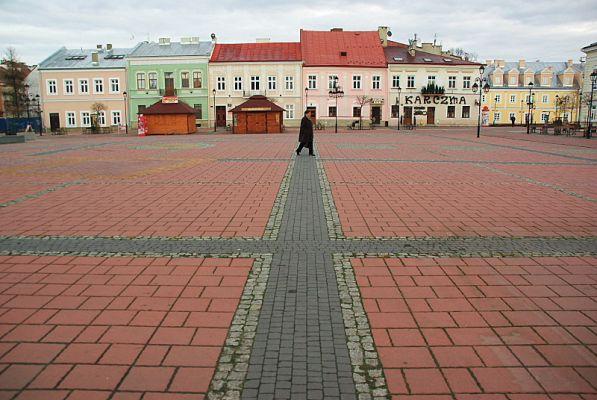 Market Square Sanok south side