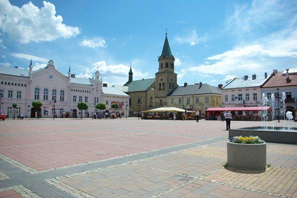 Rynek Market Square Sanok 2012