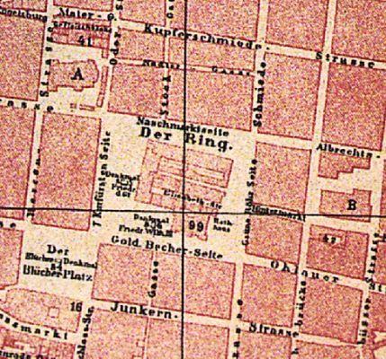 Breslau Ring Karte 1873