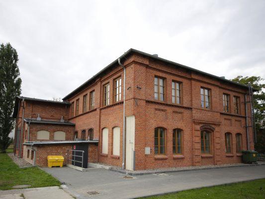 Gdańsk, d. magazyn torped, tzw. sala BHP, ob. muzeum zakładowe,