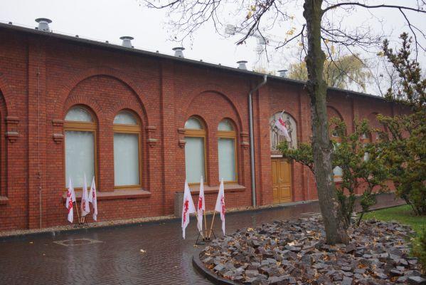 Stocznia gdanska 20 11 2013 025 Budynek Sali BHP