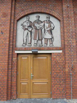 Stocznia Gdańska Sala BHP - drzwi