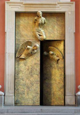 Kosciol Jezuitow drzwi Mitoraja