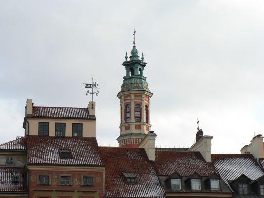 Warszawa, Rynek Starego Miasta, kosciol Jezuitow