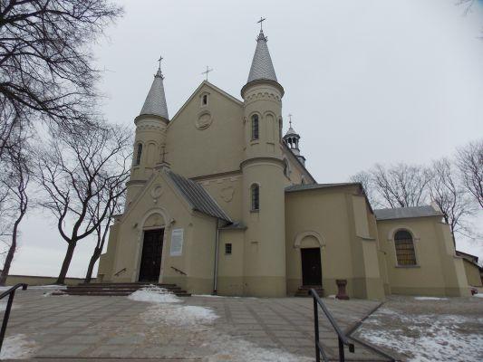 Kościół pw. św. Michała Archanioła w Daleszycach (jw14)