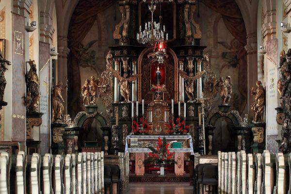 """""""1 zetem"""" Grodowiec - Wnętrze Kościoła św. Jana Chrzciciela"""