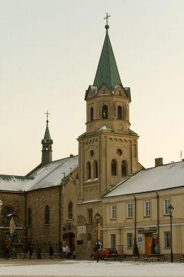 Sanok, Kościół Franciszkanów