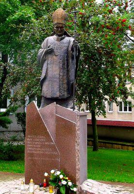 Rokitno, pomnik Jana Pawła II