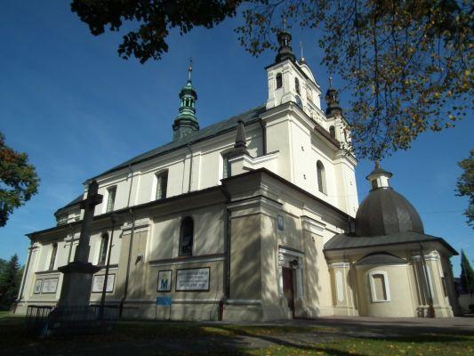 Kościół św. Jana Chrzciciela w Janowie Lubelskim - z ukosa