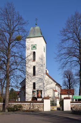 Saint Nicholas church in Mikołów-Bujaków (Nikolai-Bujakow)