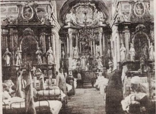 Kosciol sw antoniego 1916