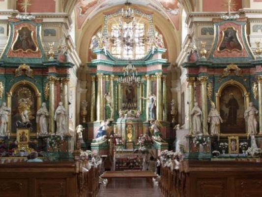 Ostroleka-klasztor wnetrze