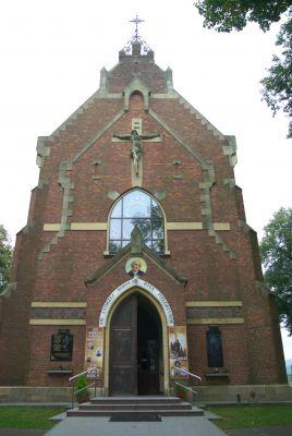 Saint Catherine of Alexandria church in Strachocina 7