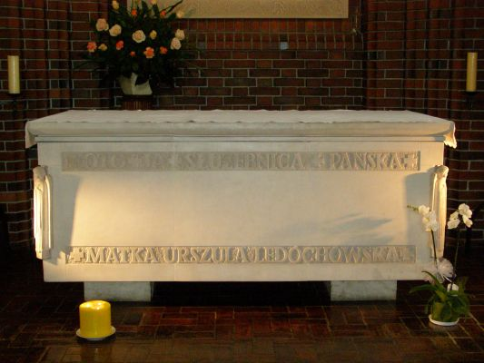 Pniewy - sarkofag Urszuli
