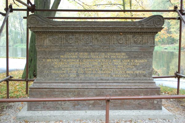 Front sarkofagu Potockiego