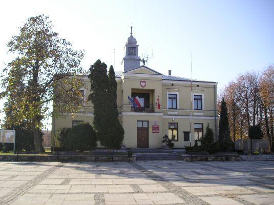 Ratusz w Sławkowie 2011