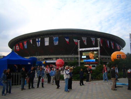Katowice-Spodek podczas finałów Ligi Światowej 2007