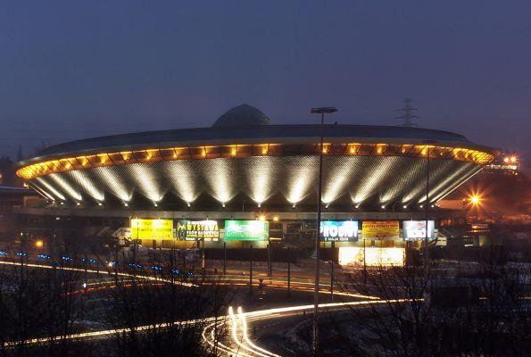 Katowice - Spodek by night