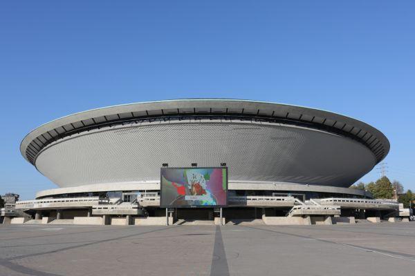 Katowice Spodek- Nowa elewacja