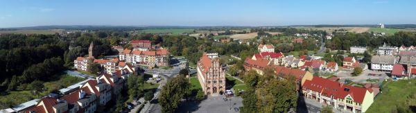 Teren Starego Miasta w Chojnie