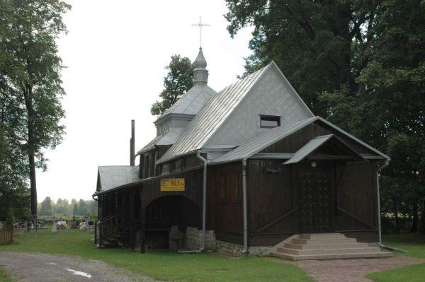 Poland Stare Oleszyce - wooden church