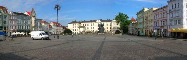 Bydgoszcz Stary Rynek panorama zach