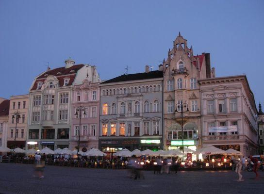 Bydgoszcz Stary Rynek pierzeja płd zmierzch