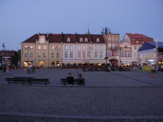 Bydgoszcz Stary Rynek wsch pierzeja zmierzch