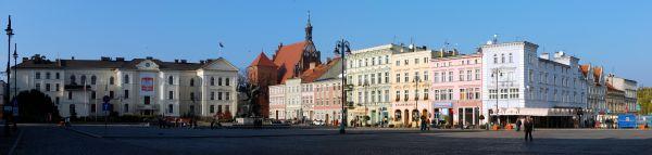 Bydgoszcz panorama rynku