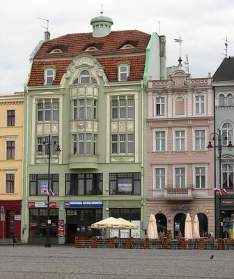 Stary Rynek Bydg kamienica nr 20 i 18