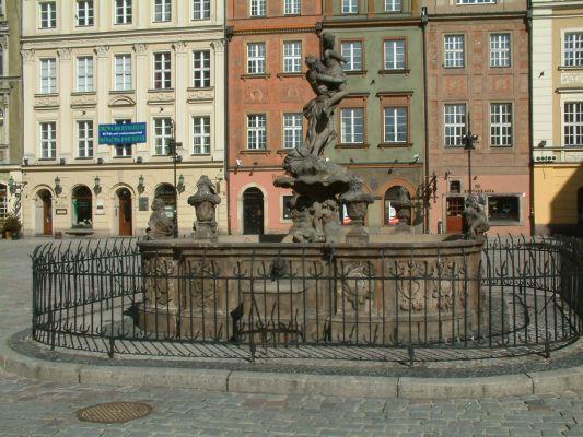 Fontanna Prozerpiny Poznan