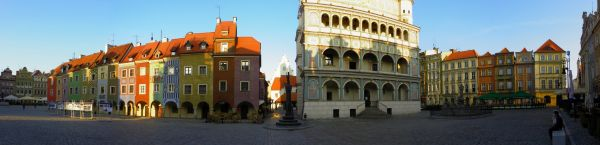 Poznan stary rynek panorama