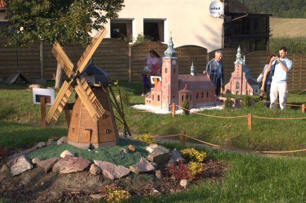 Kaszubski Park Miniatur - wiatrak