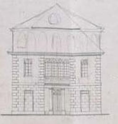 Fasada Synagoga w Chrzanowie