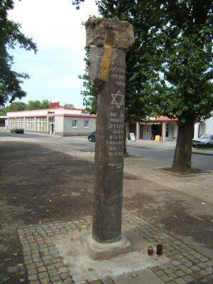 Pomnik synagoga tarnowskie gory 23082007