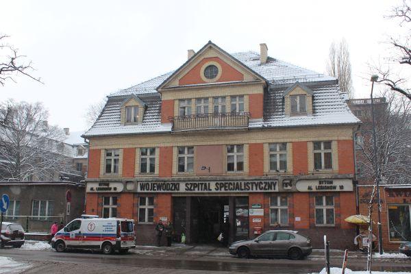 Szpital Górniczy w Bytomiu - brama główna