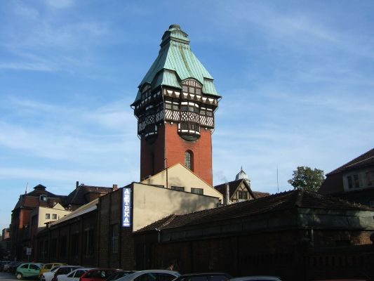 Zabrze water tower3
