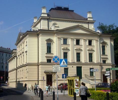 Bielsko-Biała, Teatr Polski, back fasade