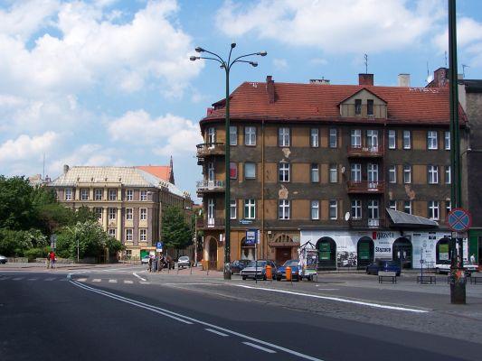 Katowice - Pl. Oddz. Młodzieży Powst. i Pl. Andrzeja