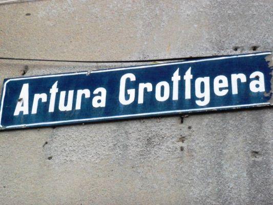 Katowice - Grottgera Street