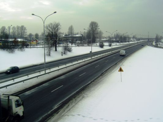 Katowice - ulica Bagienna w Szopienicach