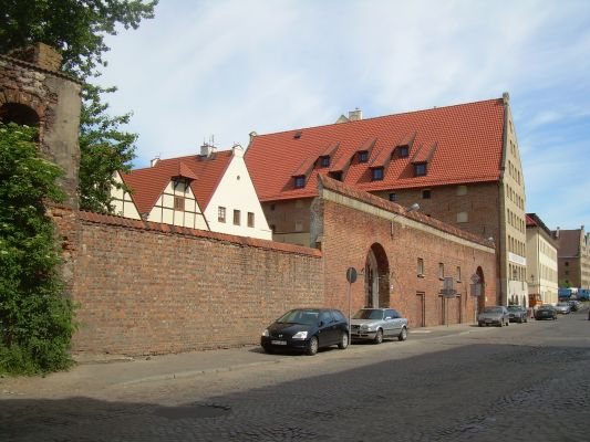 Granary Island in Gdańsk 2948