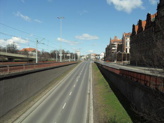 Gdańsk ulica Okopowa