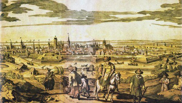 Gdansk in 18th c