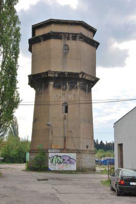 Kolejowa wieża ciśnień Łódź Włókniarzy