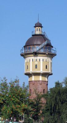 Gołdap, wieża ciśnień