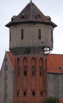 Lidzbark warmiński - wieża ciśnień