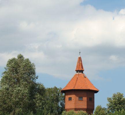 Pasłęk wieża wodociągowa